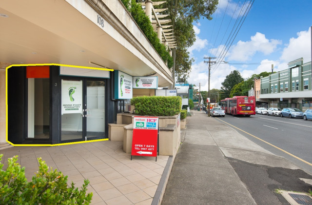 Shop 3/108 Penshurst Street, WILLOUGHBY NSW, 2068