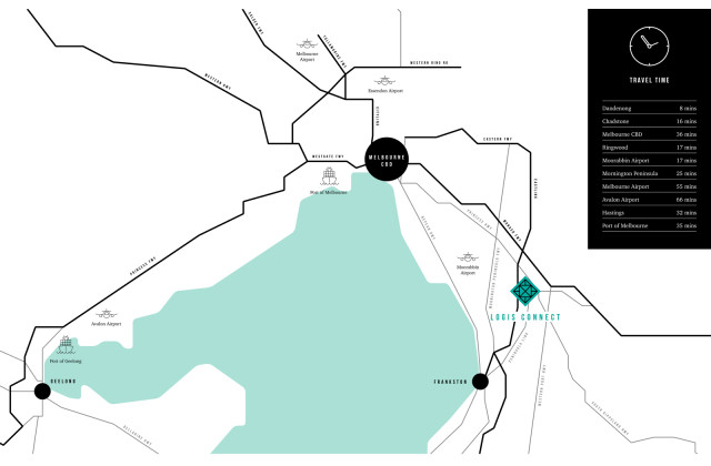 Logis Connect  1-18/247-263 Greens Road, DANDENONG VIC, 3175