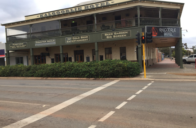 Kalgoorlie Hotel   Cnr Hannan& Wilson , KALGOORLIE WA, 6430