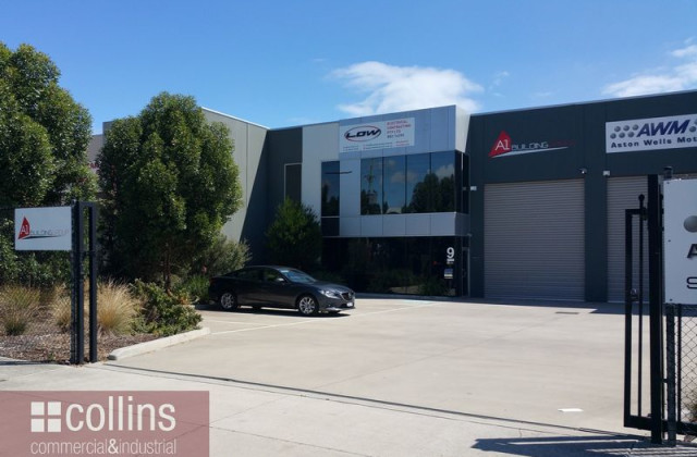 Factory 1, 9 Colemans  Rd, CARRUM DOWNS VIC, 3201