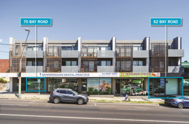 62 & 70 Bay Road, SANDRINGHAM VIC, 3191