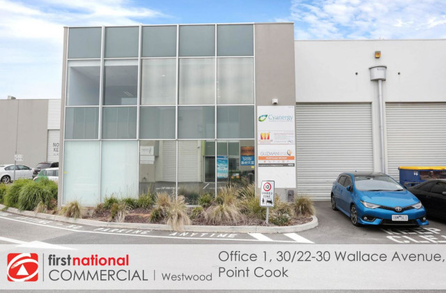 Office 1, 30/22-30 Wallace Avenue, POINT COOK VIC, 3030