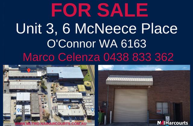 3/6 McNeece Place, O'CONNOR WA, 6163