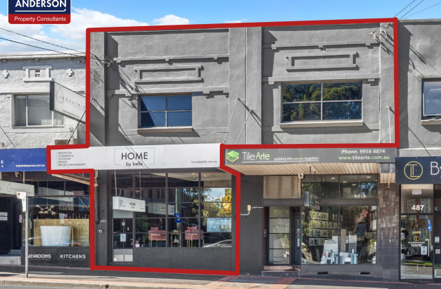 4/489 & 491 Willoughby Road, WILLOUGHBY NSW, 2068